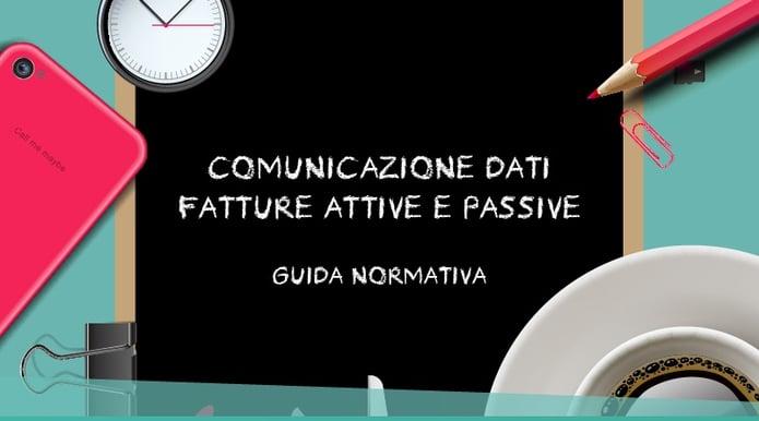 Guida Alla Comunicazione Dati Fatture - Blog di LYNFA