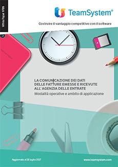 White paper: Comunicazione dei Dati delle Fatture emesse e ricevute all'Agenzia delle Entrate